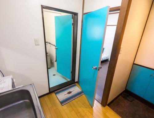 Shibuya Private Apartmentにあるキッチンまたは簡易キッチン