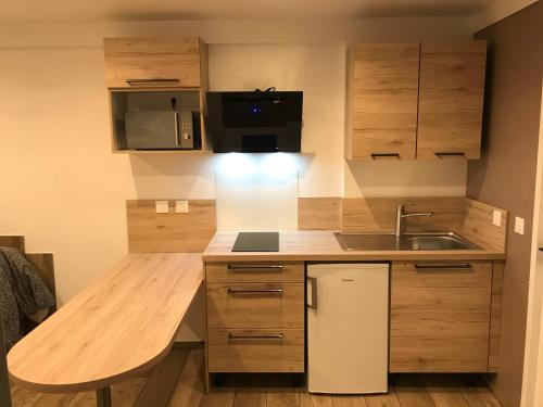 A kitchen or kitchenette at Le petit nid de chessy