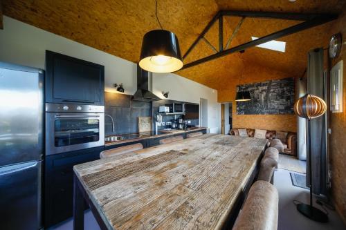 Küche/Küchenzeile in der Unterkunft Les Cottages d'Annie