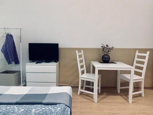 TV o dispositivi per l'intrattenimento presso Aparthotel Pulkovskoye Shosse