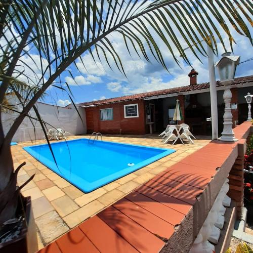 The swimming pool at or near Hostel Socorro