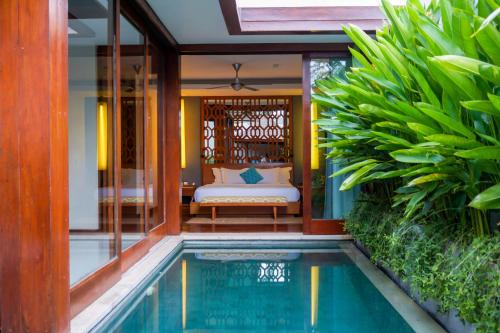 The swimming pool at or near Maca Villas and Spa