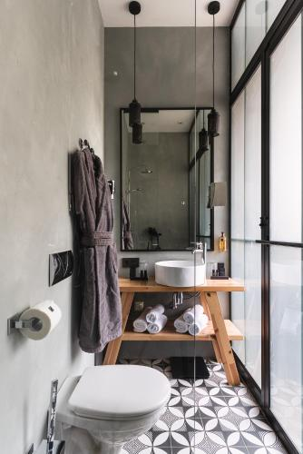 Ванная комната в WYNWOOD Hotel