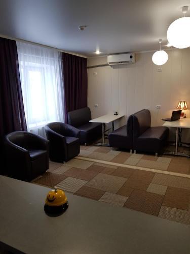 Гостиная зона в Гостевой дом Tourist