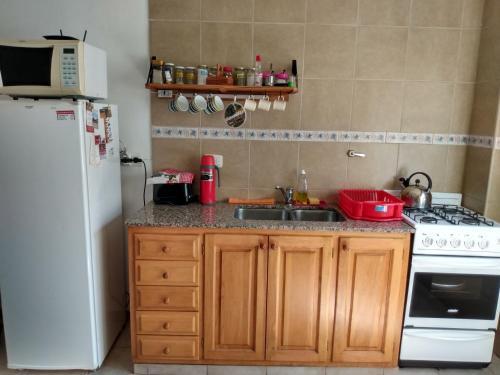 Una cocina o kitchenette en Virgen de las Nieves