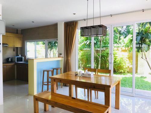 Küche/Küchenzeile in der Unterkunft Seava House Ao-Nang Krabi