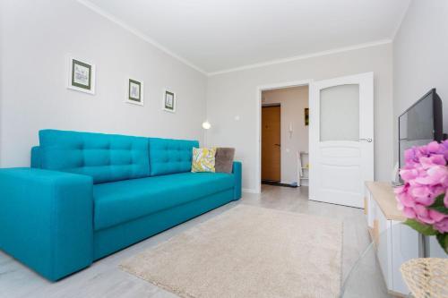 A seating area at Apartment on Kamajskaja near Minsk-Arena