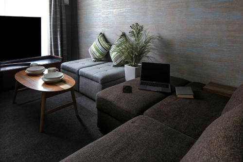 A television and/or entertainment centre at Randor Residence Kyoto Classic