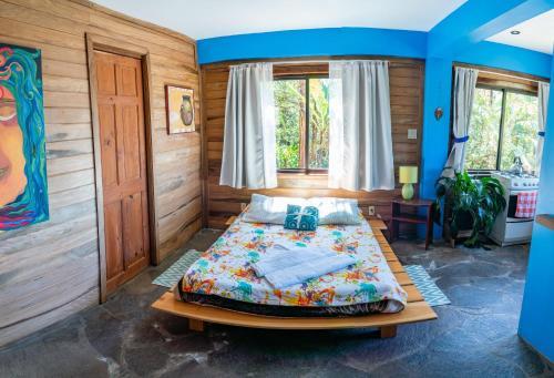 Cama o camas de una habitación en Apartamento ArteSAna