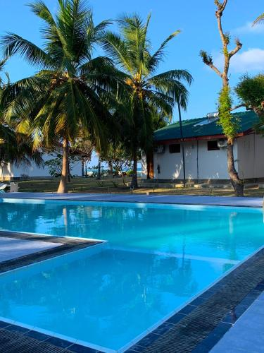 The swimming pool at or near Pearl Oceanic Resort - Trincomalee