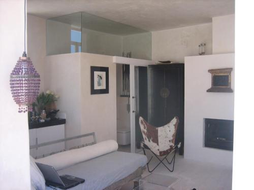 Zona de estar de Apartamentos Casa del Coronel