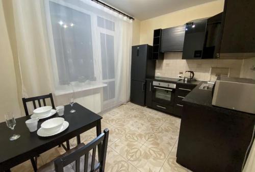 Кухня или мини-кухня в 1-комнатная квартира с капитальным ремонтом «под евро».