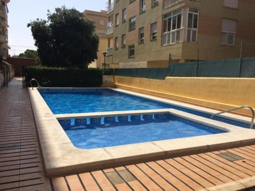 The swimming pool at or close to Oropesa del Mar I