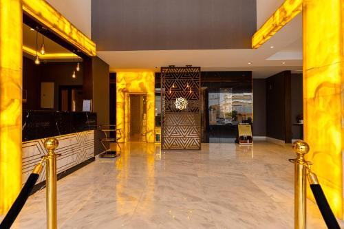 The lobby or reception area at SUITS HOTEL
