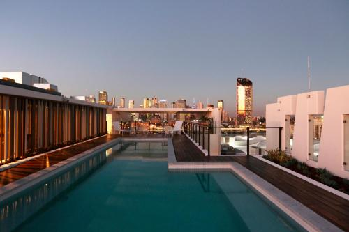 The swimming pool at or near Opera Apartments South Brisbane