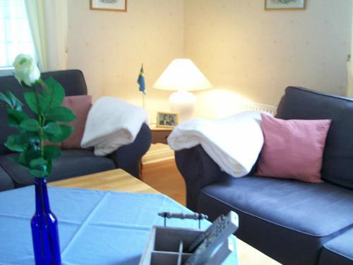 Säng eller sängar i ett rum på Hus Vena