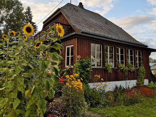 Ferienhaus mit Küche und großem Garten