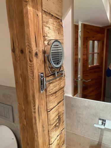 Ein Badezimmer in der Unterkunft Hoagascht