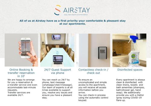 The floor plan of Elise Apartment Airport by Airstay