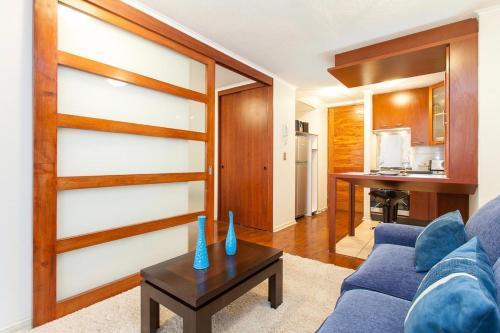 Zona de estar de Infinity Apartments Departamentos Amoblados (Santiago Centro)