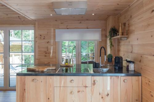 A kitchen or kitchenette at Wooden Nest