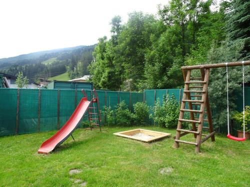 Children's play area at Schlossalm Appartement