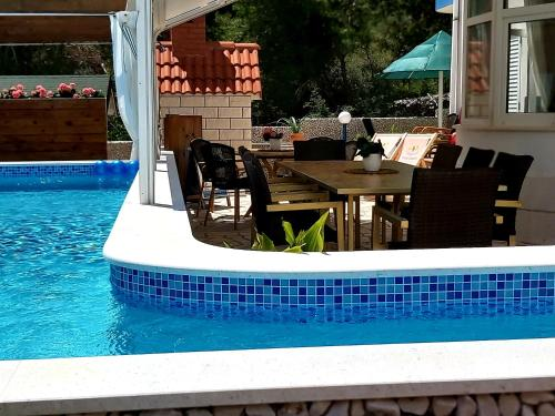 The swimming pool at or close to Villa Kale Apartments