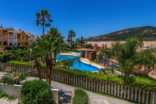 A view of the pool at Zahara Sol or nearby