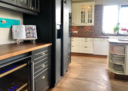 A kitchen or kitchenette at The White House