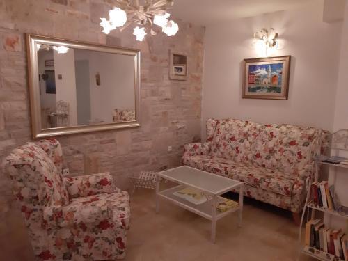 A seating area at Villa Claudia