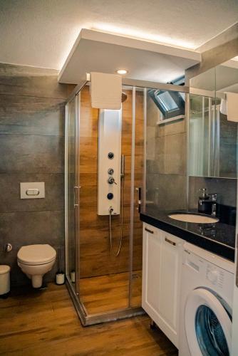 Ванная комната в Camyuva Beach Hotel