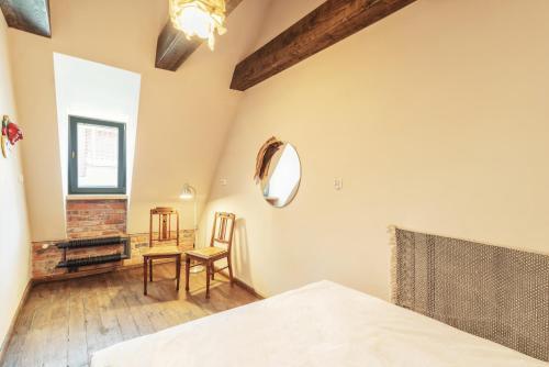 Część wypoczynkowa w obiekcie Apartament Gdański Gród