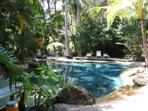 The swimming pool at or near Poinciana 112