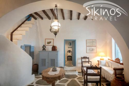 Unique Traditional House In Authentic Sikinos