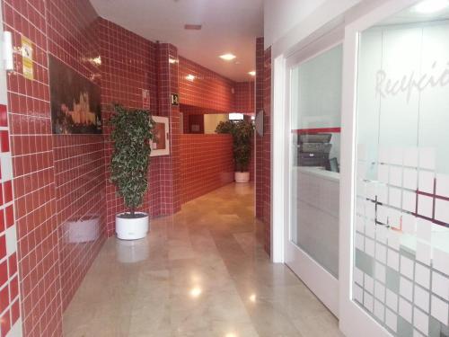 The lobby or reception area at Apartamentos Aixa II