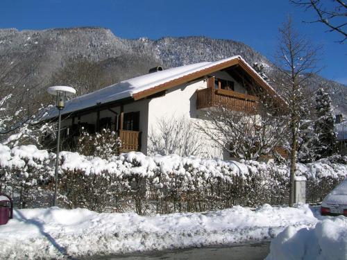 Ferienappartements Hans Mauerer im Winter