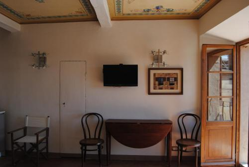 A television and/or entertainment centre at I Balconcini