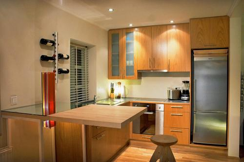 Küche/Küchenzeile in der Unterkunft Home Luxury Apartments