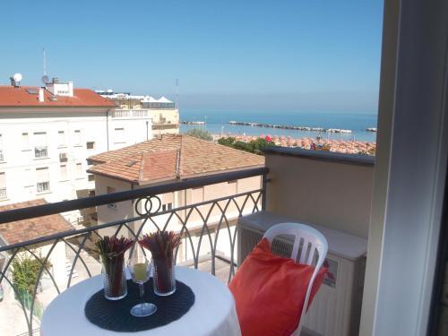 A balcony or terrace at Residence I Girasoli