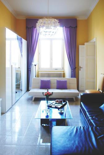 Area soggiorno di Bed and Breakfast Piazza Vittorio87