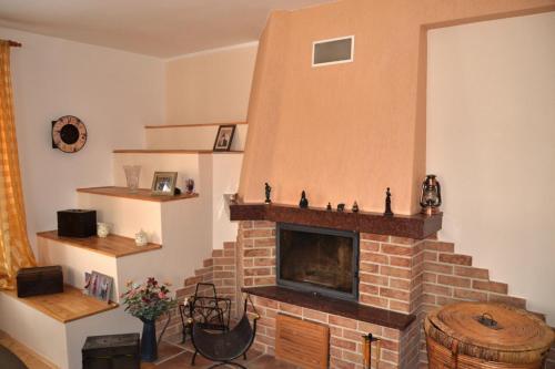 Kuchyň nebo kuchyňský kout v ubytování Apartmány u Petry