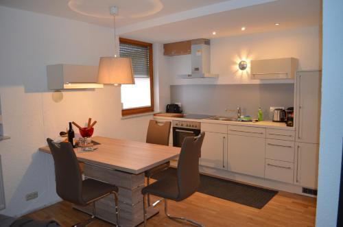 Küche/Küchenzeile in der Unterkunft Prinz City Apartments