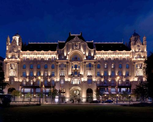 Four Seasons Hotel Gresham Palace (Hungría Budapest ...