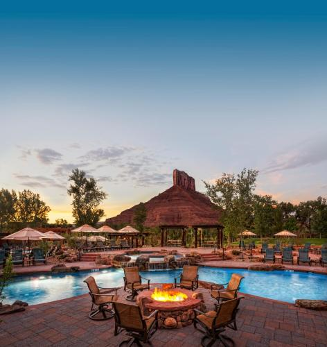 The swimming pool at or close to Gateway Canyons Resort, a Noble House Resort