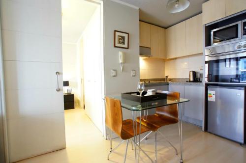 A cozinha ou cozinha compacta de Alto Lyon
