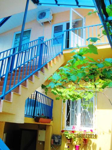 A porch or other outdoor area at Liana Guest House