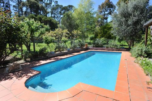 The swimming pool at or near Lavender Farm