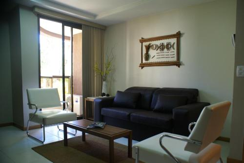 A seating area at Flat Life Resort