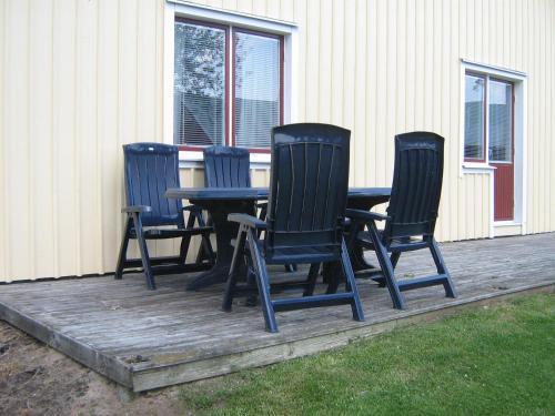 En sittgrupp på Ulricehamn Nilsagården