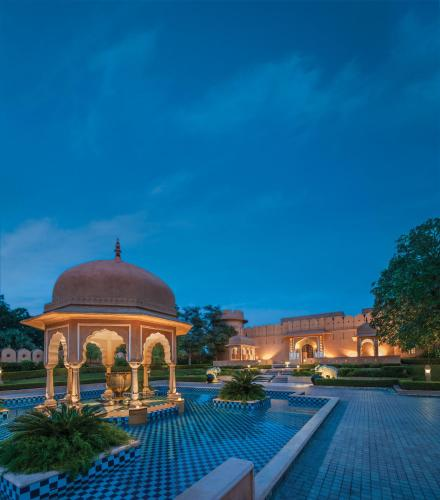 The swimming pool at or near The Oberoi Rajvilas Jaipur